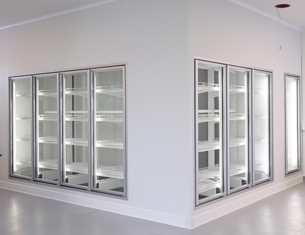 Câmaras frigoríficas modulares Purever Tech