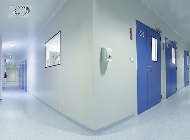 Floor pavings for Purever Tech's cleanrooms