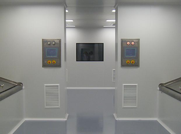 Divisórias e painéis para salas limpas Purever Tech