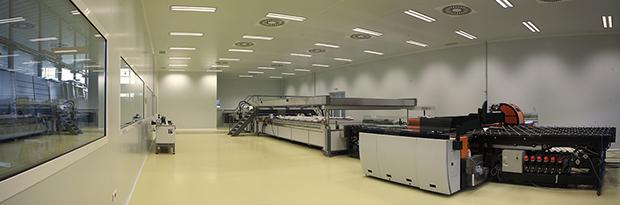 Painéis de tecto para salas limpas Purever Tech
