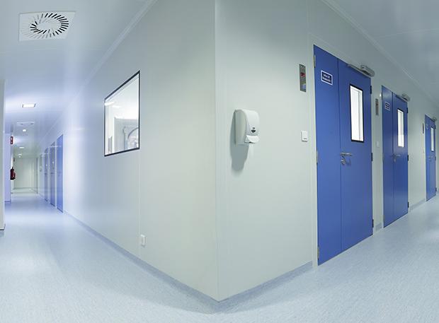 Pavimentos de solo para salas brancas Purever Tech